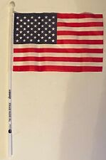 Lot of 10 - Small Decorative American Flags