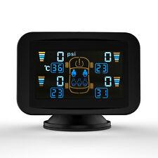 TPMS Pressione Pneumatico Osservazione Sistema LCD DIY + 4 Sensori BAR/PSI