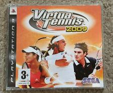 Sony Playstation 3 PS3 Game Virtua Tennis 2009 Promo Version