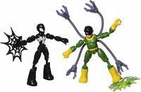 Spider-Man Curva Y Flex Vs Doc Ock Figura de Acción Niños Juguete
