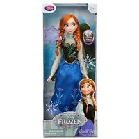 """Disney Store Exclusive Authentic Frozen Anna 16"""" Singing Doll NEW NRFB"""