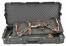 Black SKB Parallel Limb Double bow / Rifle Case 3i-4217-DB & TSA locking latches