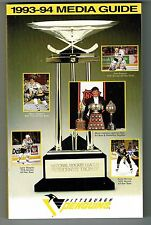 1993/94 Pittsburgh Penguins NHL Hockey Media GUIDE
