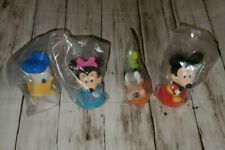 Mini Disney Bobblehead Kellogg's Cereal Toy  Minnie Mickey Donald Goofy Figures