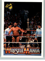 1990 Classic WWF WWE History of Wrestlemania #73 Bad News Brown