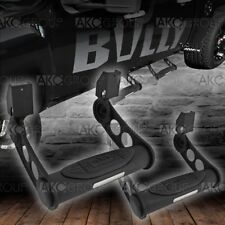 1 Pair Black Adustable Truck Side Step For Select Ford GMC Chevy Dodge Ram Tucks
