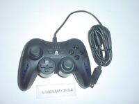VENTED Black Wired Controller by Power A for Sony Playstation 3 PS3 system