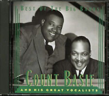 Count Basie & His Great Vocalists - Best of the Big Bands (CD, May-1995, Sony)