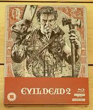 Sam Raimi's Evil Dead 2 UK Limited Edition 4K UHD Steelbook -  Rare & OOP