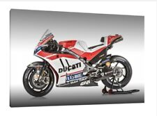 Ducati Desmosedici GP17 - Jorge Lorenzo Moto GP Wall Art