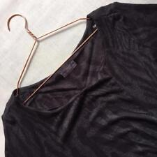 M&S Per Una Charcoal & Black Animal Print Smart Stretch Dress Plus Size 20 Tall