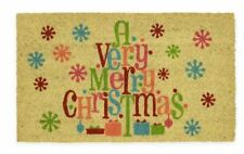 "Mohawk Home Very Merry Christmas 18"" x 30"" Coir Door Mat"