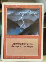 MTG - Lightning Bolt - Revised - Christopher Rush