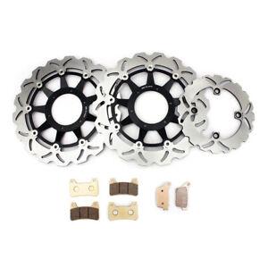 Fit HONDA CBR RR 1000 2008-2017 2014 2013 2012 Brake System Front Disc Rotors