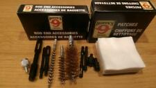 """Lot #2 Hoppe's """"9"""" Rod End Accessories - Gun Cleaning/Copper brushes/patches"""