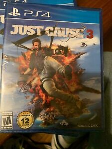 Just Cause 3 (Sony PlayStation 4,2015)New Factory Sealed