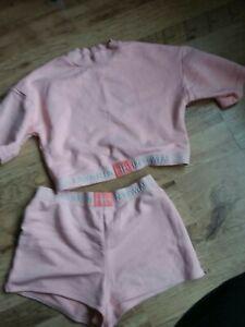 Calvin Klein Sleepwear Lounge Wear Shorts And Top