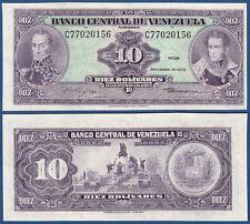 Venezuela 10 bolivares 1979 UNC p. 51 G