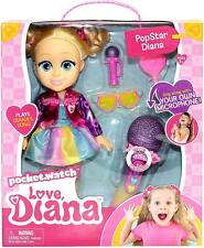 Love, Diana Popstar Doll with Singalong Microphone
