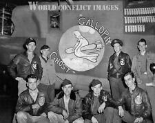 USAAF WW2 B-24 Bomber Galloping Ghost 8x10 Nose Art Photo 466th BG Attlebridge