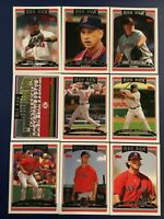 2006 Topps BOSTON RED SOX Complete Team Set (21) PAPELBON RC Series 1 & 2 LOOK
