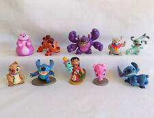 Disney Exclusive LILO AND STITCH 10 ALIEN FIGURES SET Toy ~ RARE COMPLETE Yang
