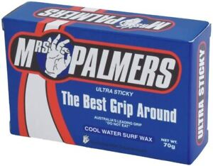 Mrs Palmers Cool Water Surf Wax Ultra Sticky Pack Surfboard