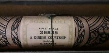Pianola Music Roll Vintage Full Scale - A Dinder Courtship