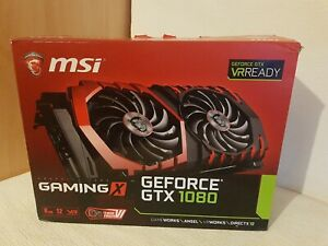 MSI GEFORCE GTX 1080 just Box - BOX ONLY- Only box No graphic card