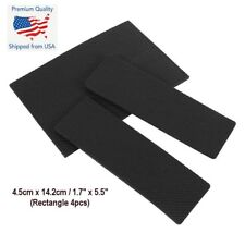 4PCS Large Self Adhesive Furniture Leg Foam TPR Rubber Protect Pads Mat Black