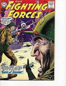 Our Fighting Forces  #84 (Gunner & Sarge  FN-  5.5) May-1964, DC