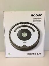 iRobot Roomba 670 Vacuum Cleaner Robot Wi-Fi Carpet Hard Floors New Sealed Box