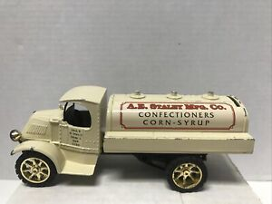 Vintage 1996 American Classic A.E. Stanley MFG. Co Diecast Coin Bank Mack Truck