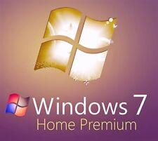Microsoft Windows 7 Home Premium OA 32/64 bit MS Activation Key Full Version UK