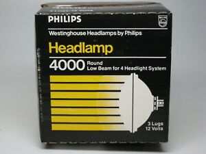 Headlight Bulb-Headlamp Philips 4000