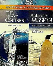 The Last Continent/Antarctic Mission (Blu-ray Disc, 2011, 2-Disc Set)Documentary
