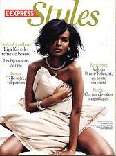 STYLES  2010:Top model LIYA KEBEDE_ BRIGITTE BARDOT_CHRISTIAN LACROIX