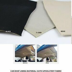 Composite Headliner Foam Fabric Replace Boat Car 4WD Van MPV Roof Trunk Lining