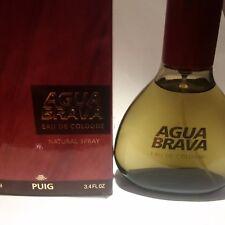 AGUA BRAVA BY PUIG EAU DE COLOGNE 100 ML!!VAPO!!! RARE AND VINTAGE