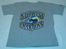 Vintage Starter St Louis Rams Conference NFC West Champs Graphic tshirt L NFL