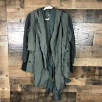 Free People Green Jacket Womens Small NWT