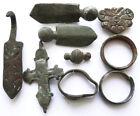 Genuine Medieval bronze artefacts