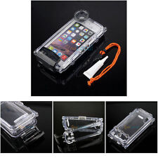 Waterproof Case for iPhone 6S 6 IPX8 130FT Photograph Camera Grease Neck Strap