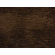 Dark Chocolate Brown Chenille Upholstery Fabric Remnants Ligne Roset - New
