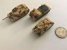 Military Micro Machines #1 Ambush Squad (1991) Abrams Tank Sheridan Rocket