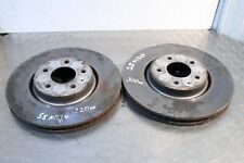 2011 AUDI A5 S5 COUPE 3.0 TFSI FRONT BRAKE DISCS 320mm