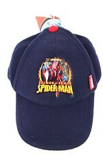Marvel Spider-Man Spider-Sense Boy's Polyester Snap Back Cap Adjustable Size NWT