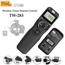 Pixel TW-283 Wireless Timer Remote Control Shutter Release cable for Canon Nikon