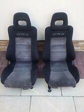 RARE HONDA CRX FRONT SEAT SEATS EDM JDM OEM CRX EF8 EF7 EF EE8  ED9 SiR IVT