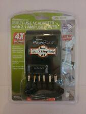 Power Line Mult 00004000 i-Use Ac Adapter 2.1 Amp Usb Power *